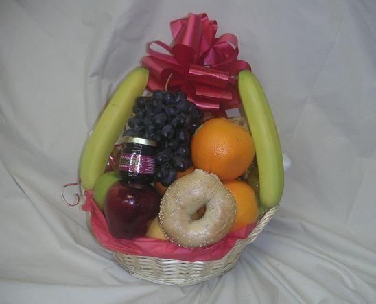 "<font color=""#FFFFFF\"">a</font>Medium Fruit & Bagel Basket"