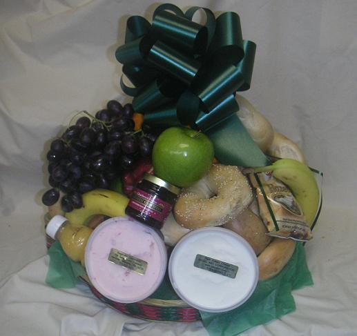<font color=&quot;#FFFFFF&quot;>b</font>Large Fruit & Bagel Basket